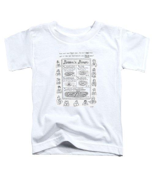 Doreen's Diner Toddler T-Shirt