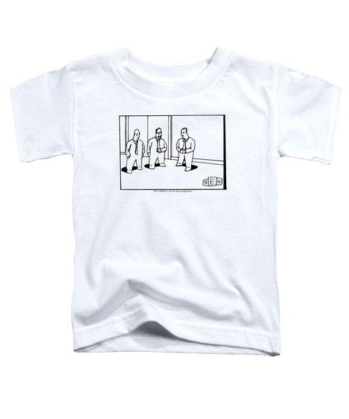 A Bald Businessman Introduces Another Bald Toddler T-Shirt