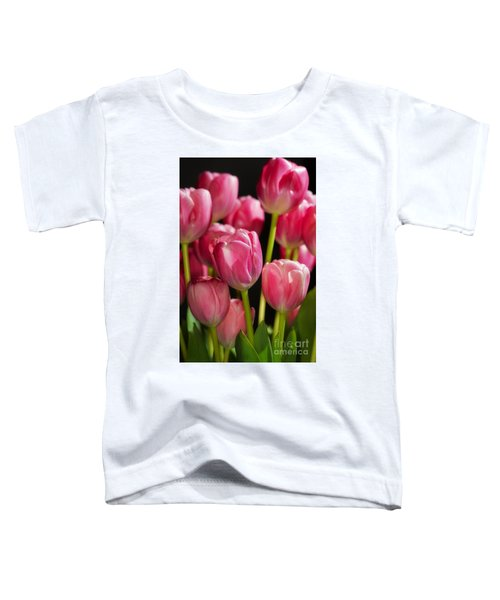 A Bouquet Of Pink Tulips Toddler T-Shirt