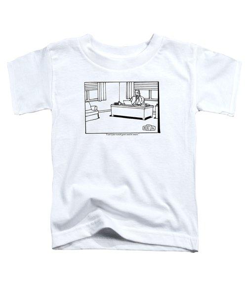 A Businessman At His Desk Toddler T-Shirt