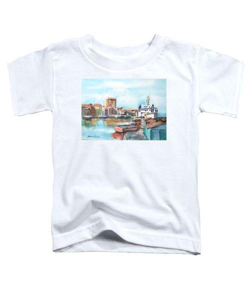 A Curacao Morning Toddler T-Shirt