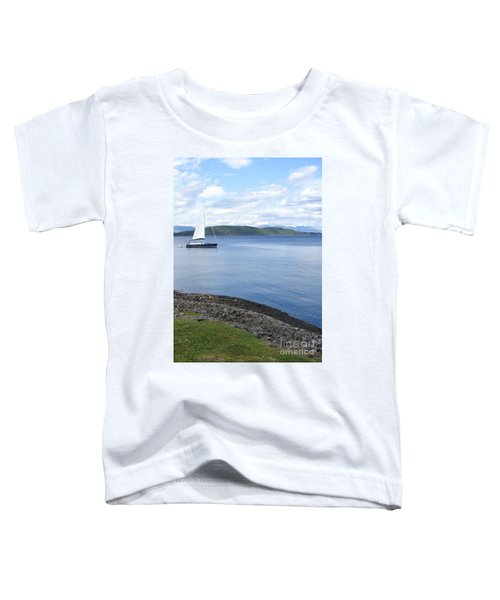 A Fine Day For A Sail Toddler T-Shirt