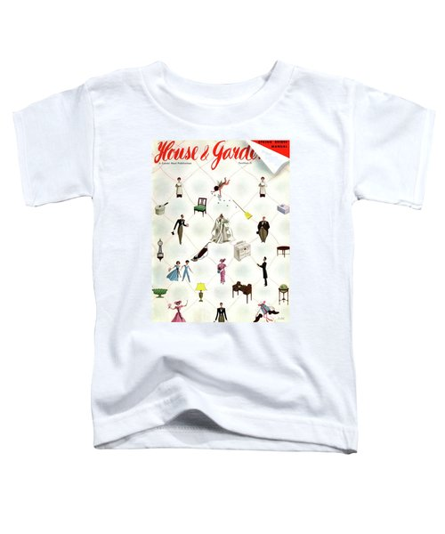 A House And Garden Cover Of People And Household Toddler T-Shirt