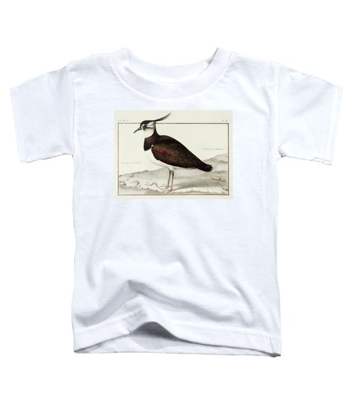 A Lapwing Toddler T-Shirt by Nicolas Robert