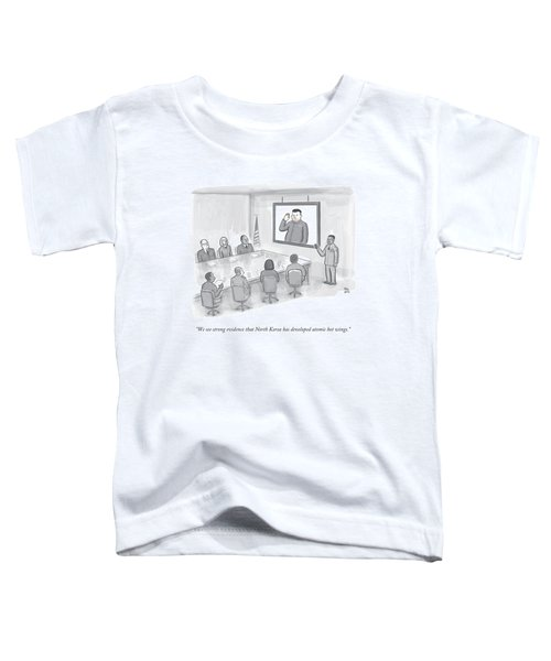 A Military Briefing Toddler T-Shirt
