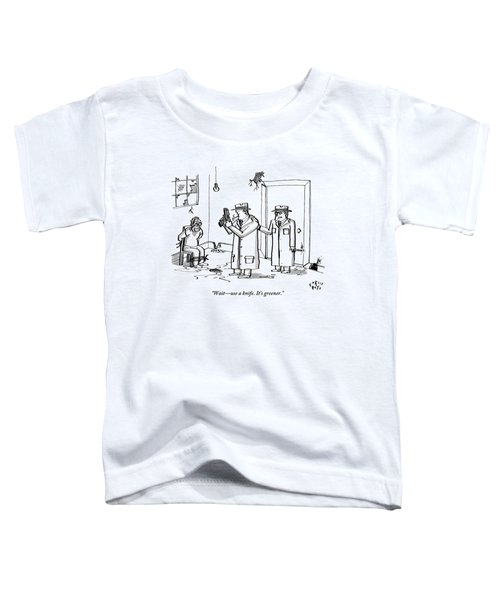 A Mobster Is About To Shoot A Tied Up Hostage But Toddler T-Shirt