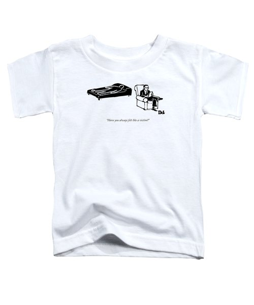 A Psychiatrist Sits With His Patient Toddler T-Shirt