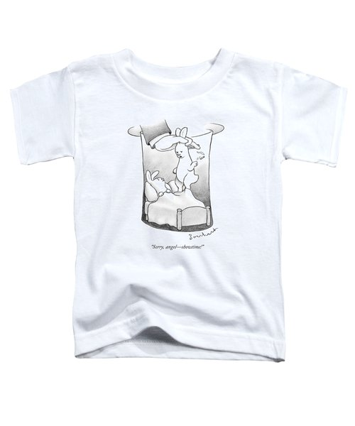 A Rabbit Is Being Pulled Out Of A Hat Toddler T-Shirt