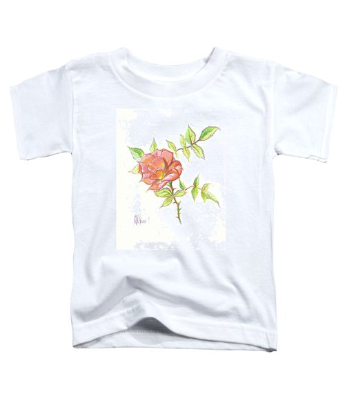A Rose In Brigadoon Toddler T-Shirt