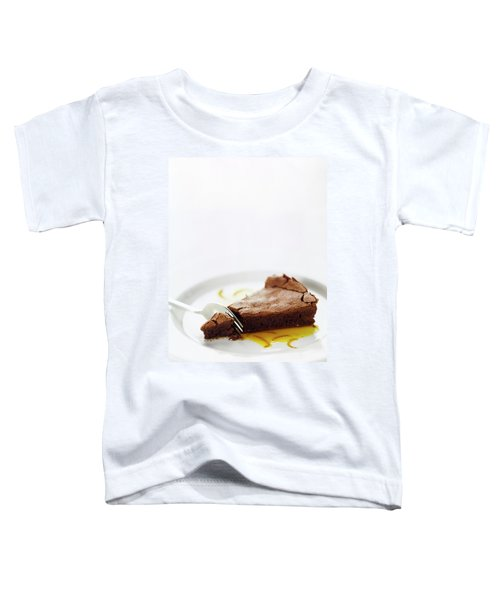 A Slice Of Chocolate Cake Toddler T-Shirt