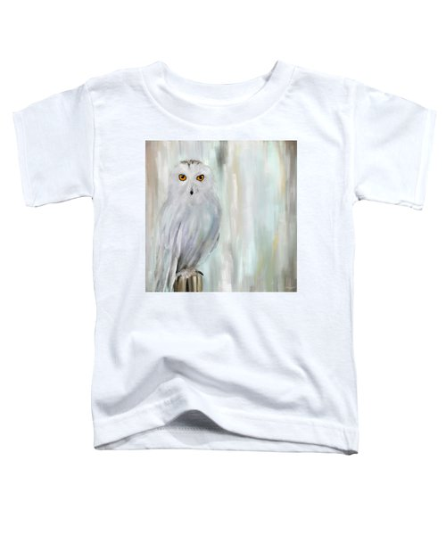 A Snowy Stare Toddler T-Shirt