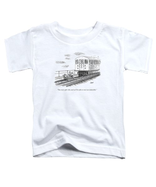 A Therapist Speaks To A Patient On Train Tracks Toddler T-Shirt