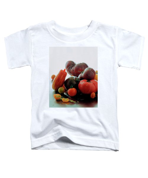 A Variety Of Vegetables Toddler T-Shirt