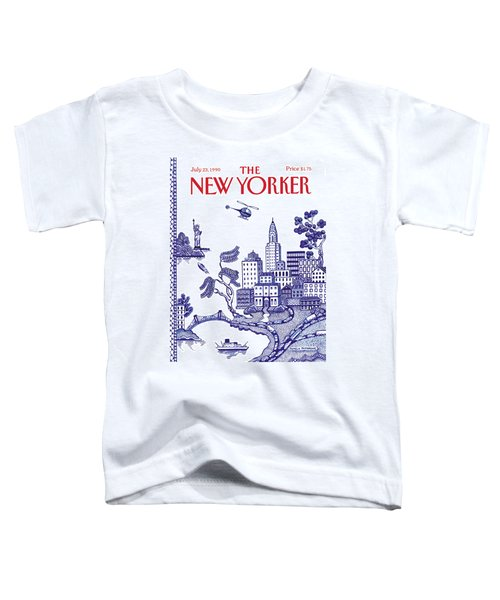 A View Of New York City Toddler T-Shirt