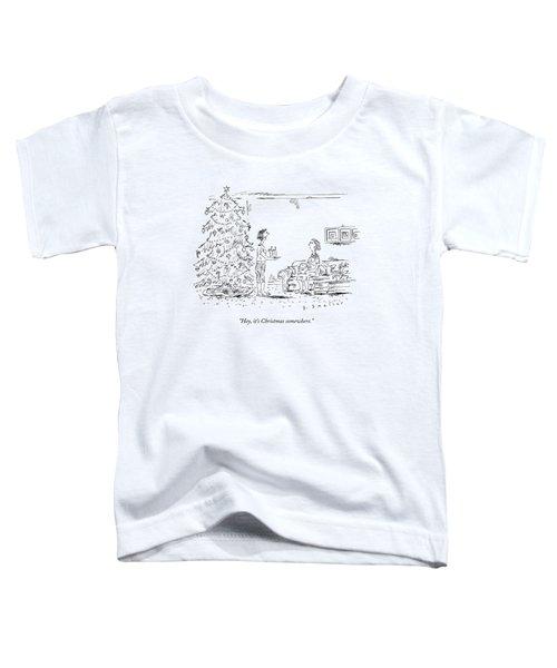 A Woman Serving Summer Drinks Toddler T-Shirt