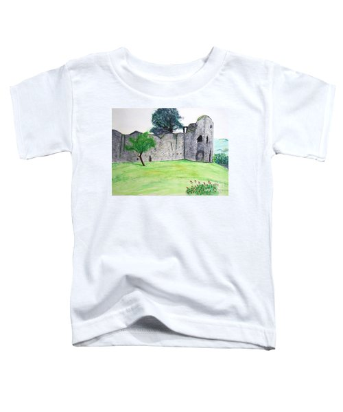 Abergavenny Castle Toddler T-Shirt