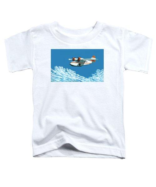 Above It All  The Grumman Goose Toddler T-Shirt
