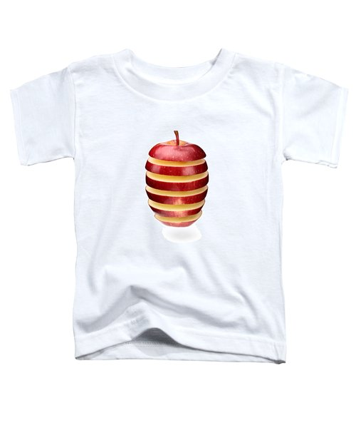 Abstract Apple Slices Toddler T-Shirt