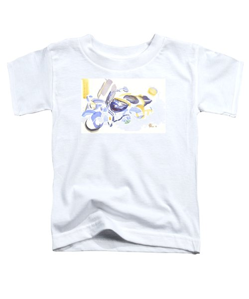 Abstract Motorcycle Toddler T-Shirt