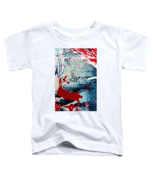 Abstract Original Artwork One Hundred Phoenixes Untitled Number Six Toddler T-Shirt