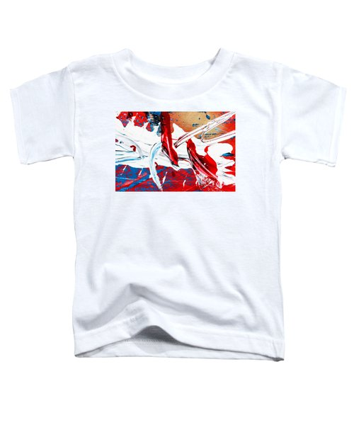 Abstract Original Artwork One Hundred Phoenixes Untitled Number Two Toddler T-Shirt
