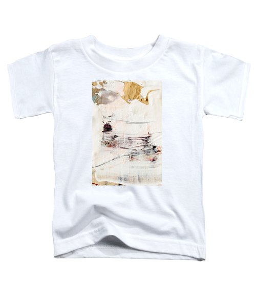 Abstract Original Painting Number Eleven Toddler T-Shirt