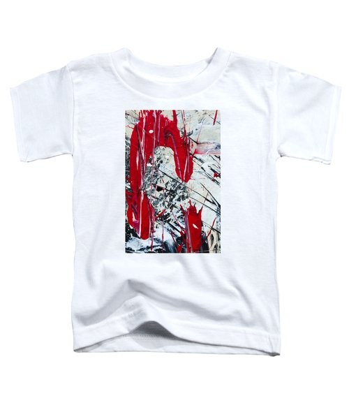 Abstract Original Painting Untitled Nine Toddler T-Shirt