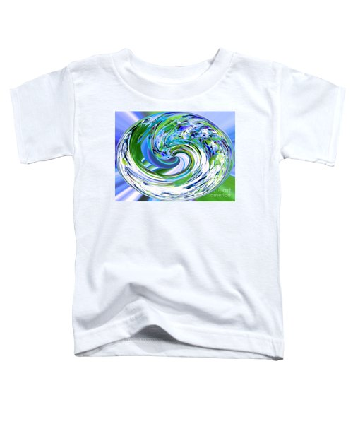 Abstract Reflections Digital Art #3 Toddler T-Shirt