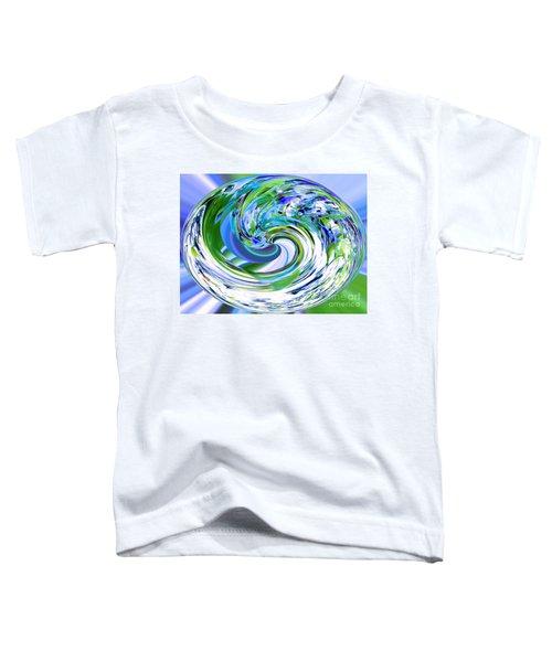 Abstract Reflections Digital Art #3 Toddler T-Shirt