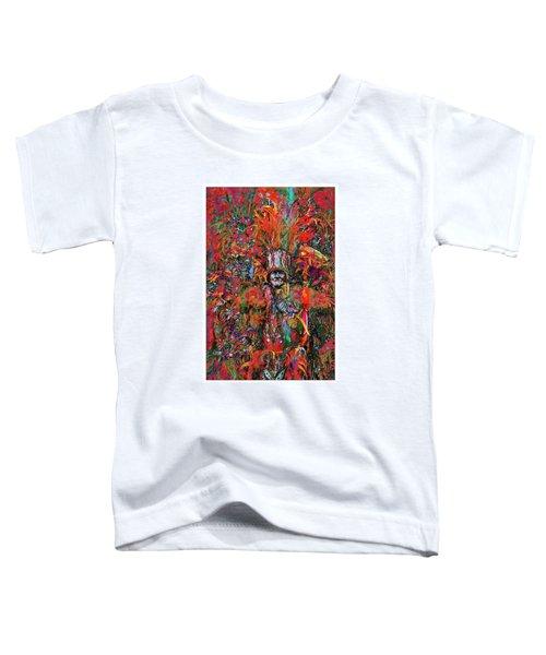 Abstracted Mummer Toddler T-Shirt