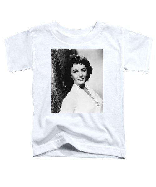 Actress Elizabeth Taylor Toddler T-Shirt by Underwood Archives