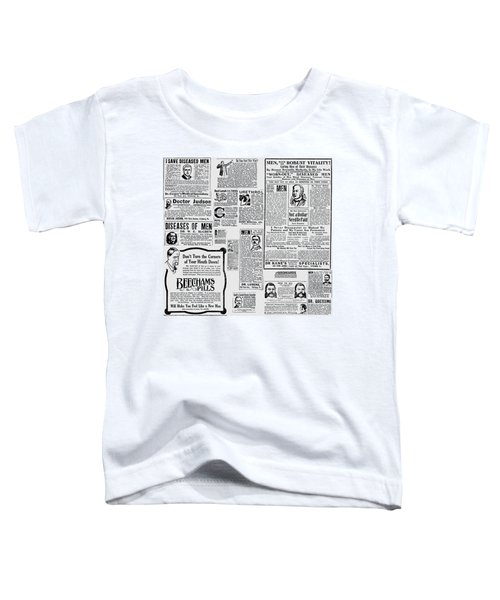 Advert - Edwardian Mens Health Toddler T-Shirt