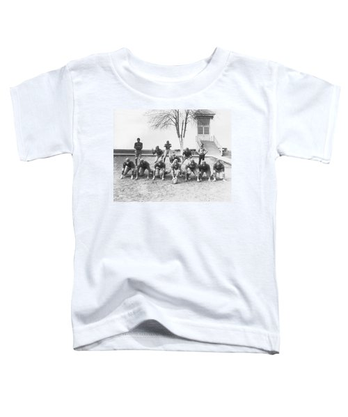 African American Football Team Toddler T-Shirt