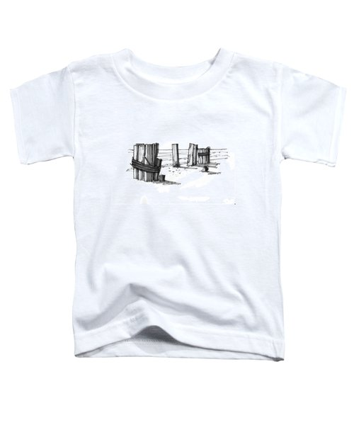 All That Remains Ocracoke 1970s Toddler T-Shirt