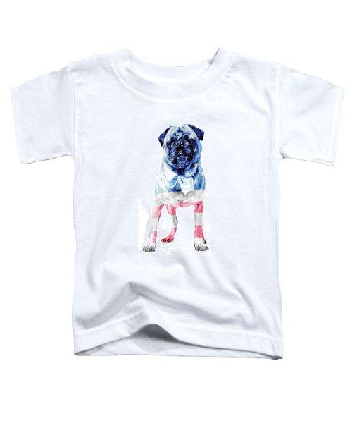 American Pug Phone Case Toddler T-Shirt