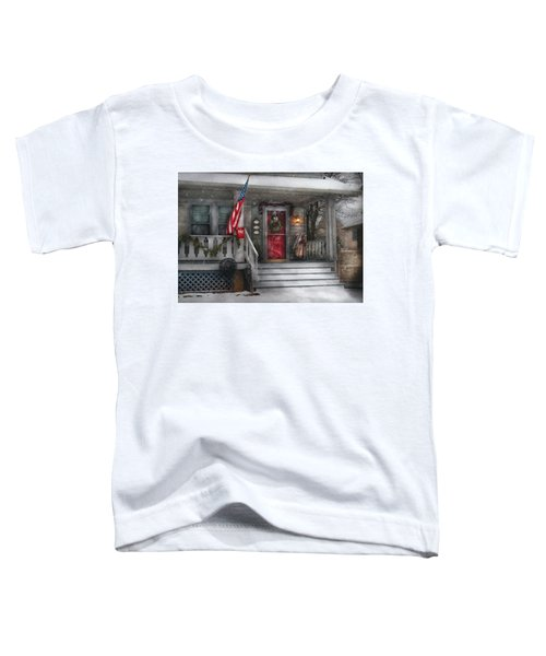 Americana - A Tribute To Rockwell - Westfield Nj Toddler T-Shirt