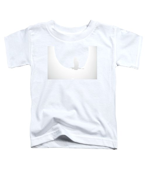 An Ethereal View Of A Great Heron Toddler T-Shirt