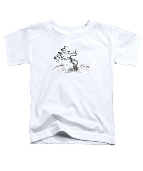Ancient Loblolly Pine Ocracoke Nc 1970s Toddler T-Shirt