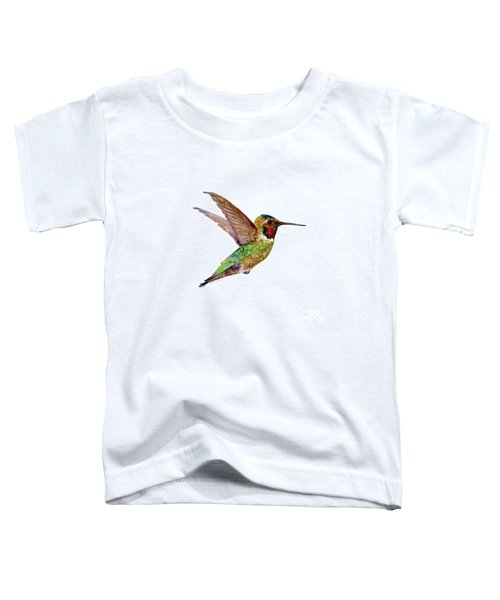 Anna Hummingbird Toddler T-Shirt