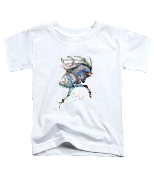 Arabian Horse Trotting In Air Toddler T-Shirt