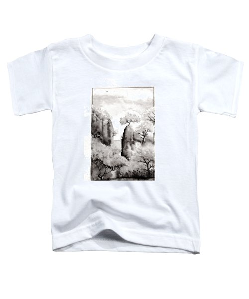 Arbres Separes Toddler T-Shirt by Marc Philippe Joly