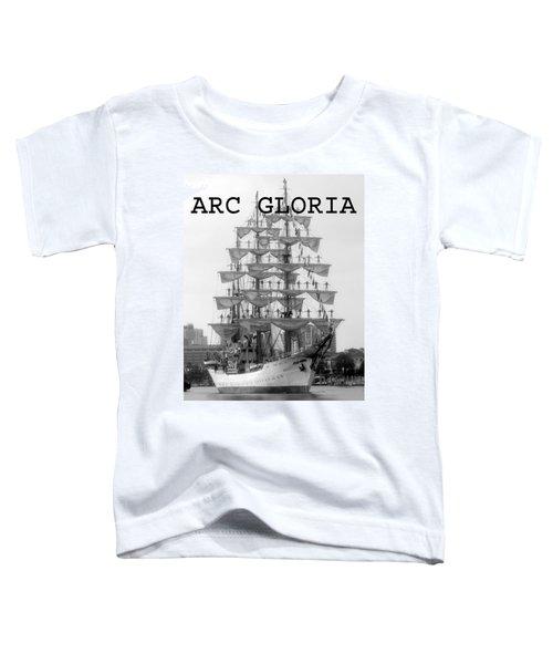 Arc Gloria Leaving Tampa Bay Florida Toddler T-Shirt