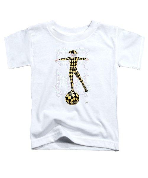 Harlequin Tightrope Toddler T-Shirt