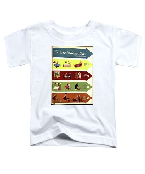 Arrows And Illustrations Toddler T-Shirt