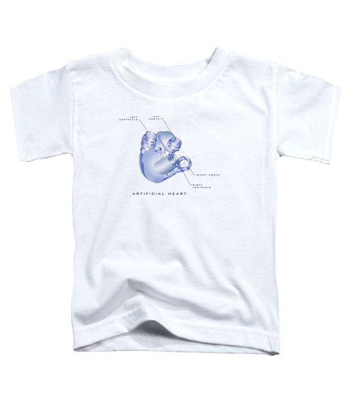 Artificial Heart Toddler T-Shirt