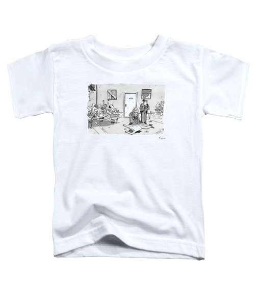 As Police And A Detective Examine A Murder Scene Toddler T-Shirt