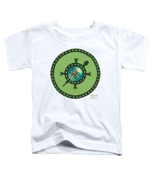 Ashlee's Dragonfly Turtle Toddler T-Shirt