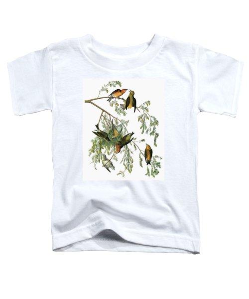 Audubon Crossbill Toddler T-Shirt