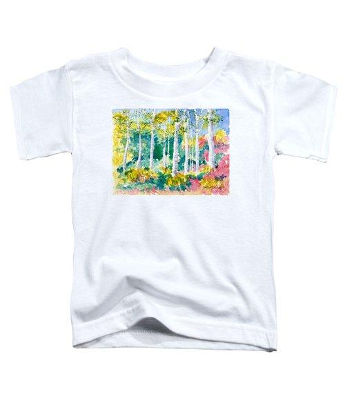 Autumn Aspen Toddler T-Shirt