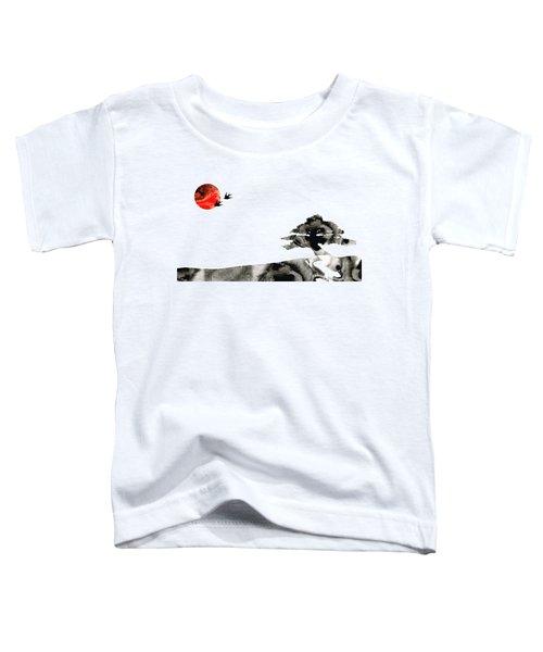 Awakening - Zen Landscape Art Toddler T-Shirt